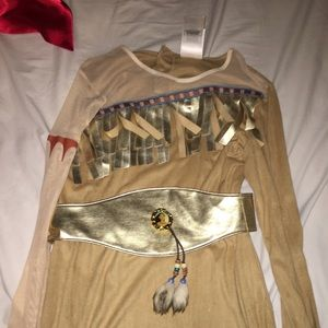 Limited edition Pocahontas costume